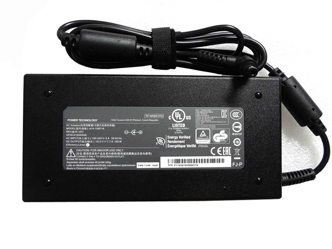 Batterie pour 100-240V~2.7A  50-60Hz (for worldwide use) 19.5V   7.7A, 150W ADP-150VB B