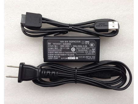 Batterie pour 100-240V  50-60Hz (for worldwide use) 5V  1.5A,  7.5W(ref to the picture). SGPAC5V6 SGPUC2