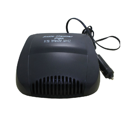 New 12 Volt DC Auto Heater Defroster with Light ELECTRIC PORTABLE CAR HEATER