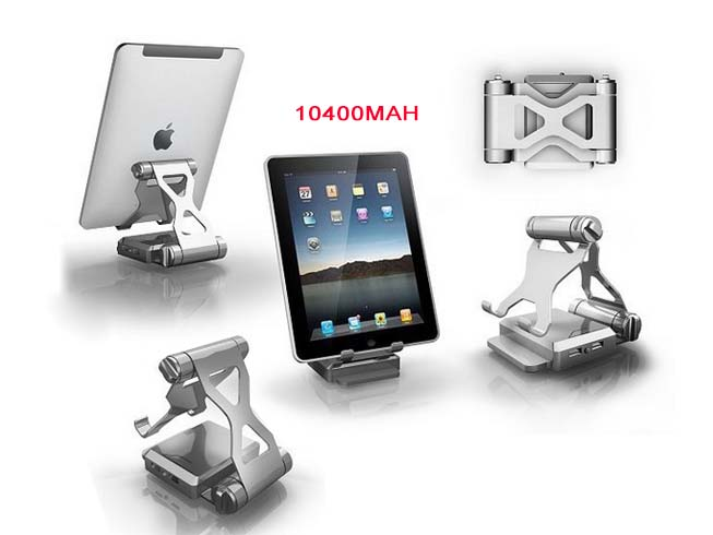 10400mAh Battery Charger Phone Tablet bracket Power Bank For cell Phone TabletPC