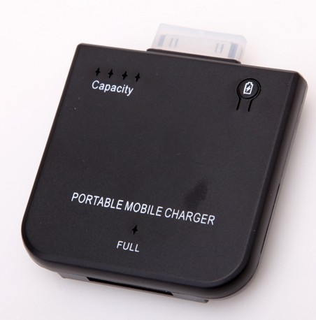 NEW Portable External 1900mAh Mobile Backup Battery Charger for iPhone4 4s iPod