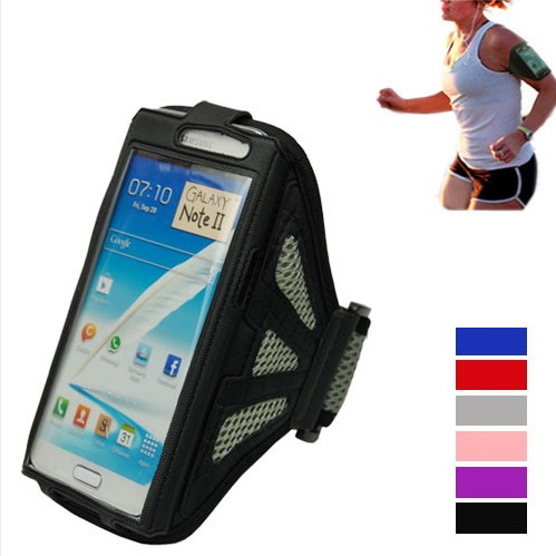 Dedicated Sport Armband Cover Case For Galaxy Note 2 II N7100