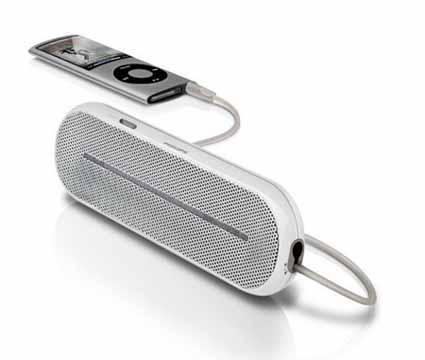 New Philips   Portable Mini Speaker SBA1600 3.5mm Aux iPod iPhone MP3 Player