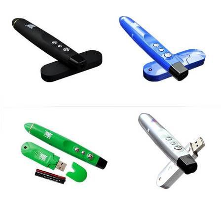 Wireless Presenter Laser USB PowerPoint Word Pointer