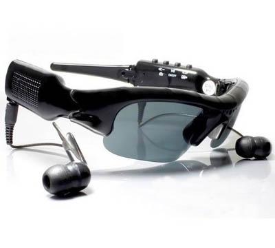 8GB Spy Sunglasses Mp3 Camera Video Recorder DVR MP3 Player Sun Glass COOL Glass