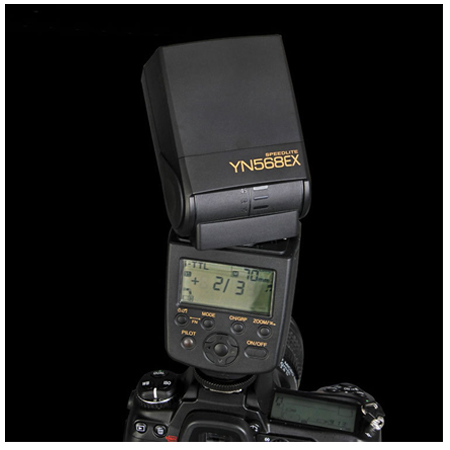 YN-568EX YN568 EX TTL Flash Speedlite HSS for D5200 D3100 D90   D80