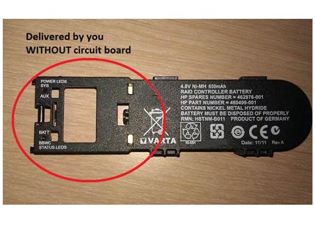 Batterie pour UNIWILL 398648-001 381573-001 HSTNM-B011