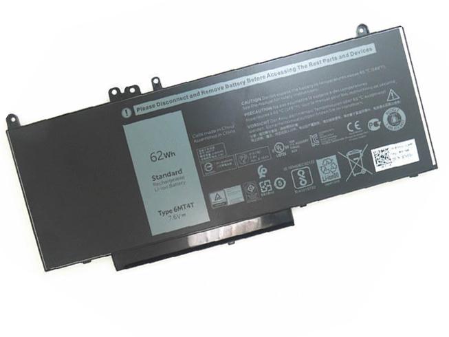 Batterie pour Dell Latitude E5450 E5550 E5570 Notebook 15.6 62Wh