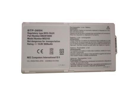 Batterie pour NEC BTP-39SN 6862810000 WIS-FAl01 MS2103 MS2110 BTP-39D1