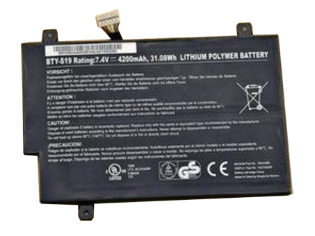 Batterie pour 4200mAh/31.08WH 7.2V BTY-S19