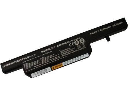 Batterie pour CLEVO C5500BAT-4 6-87-C550S-4YF