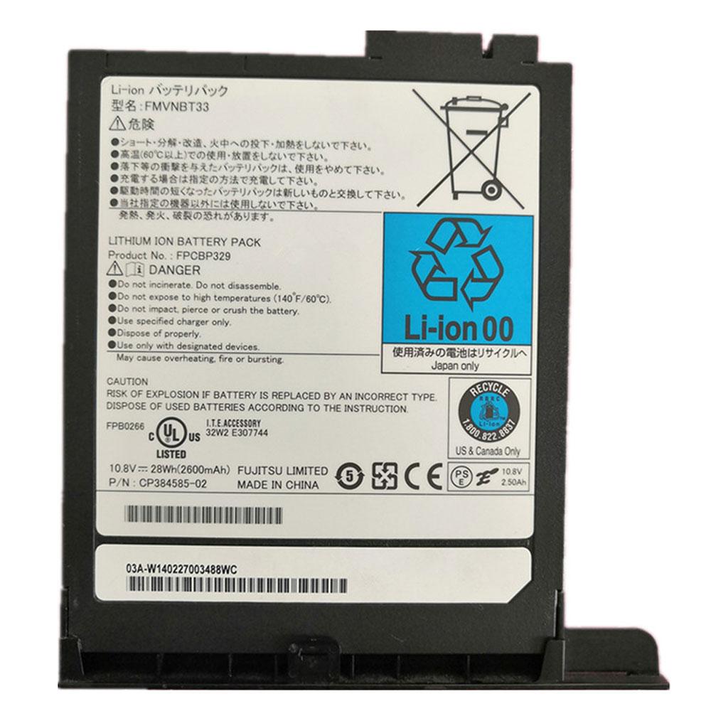 Batterie pour Fujitsu T732 T902 CP384585-02 Series 28Wh/2600mAh