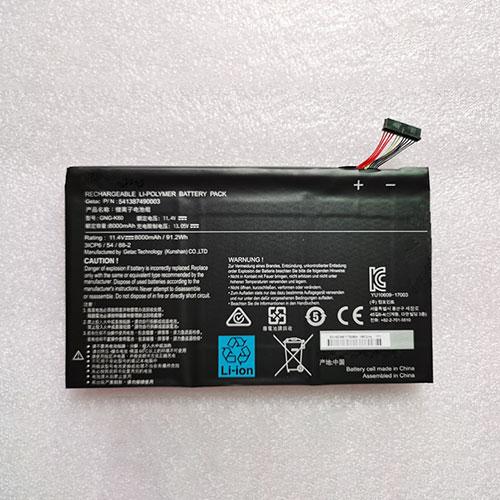 Batterie pour Gigabyte P56XT P56XTv7-DE427T 541387490003 91.2Wh