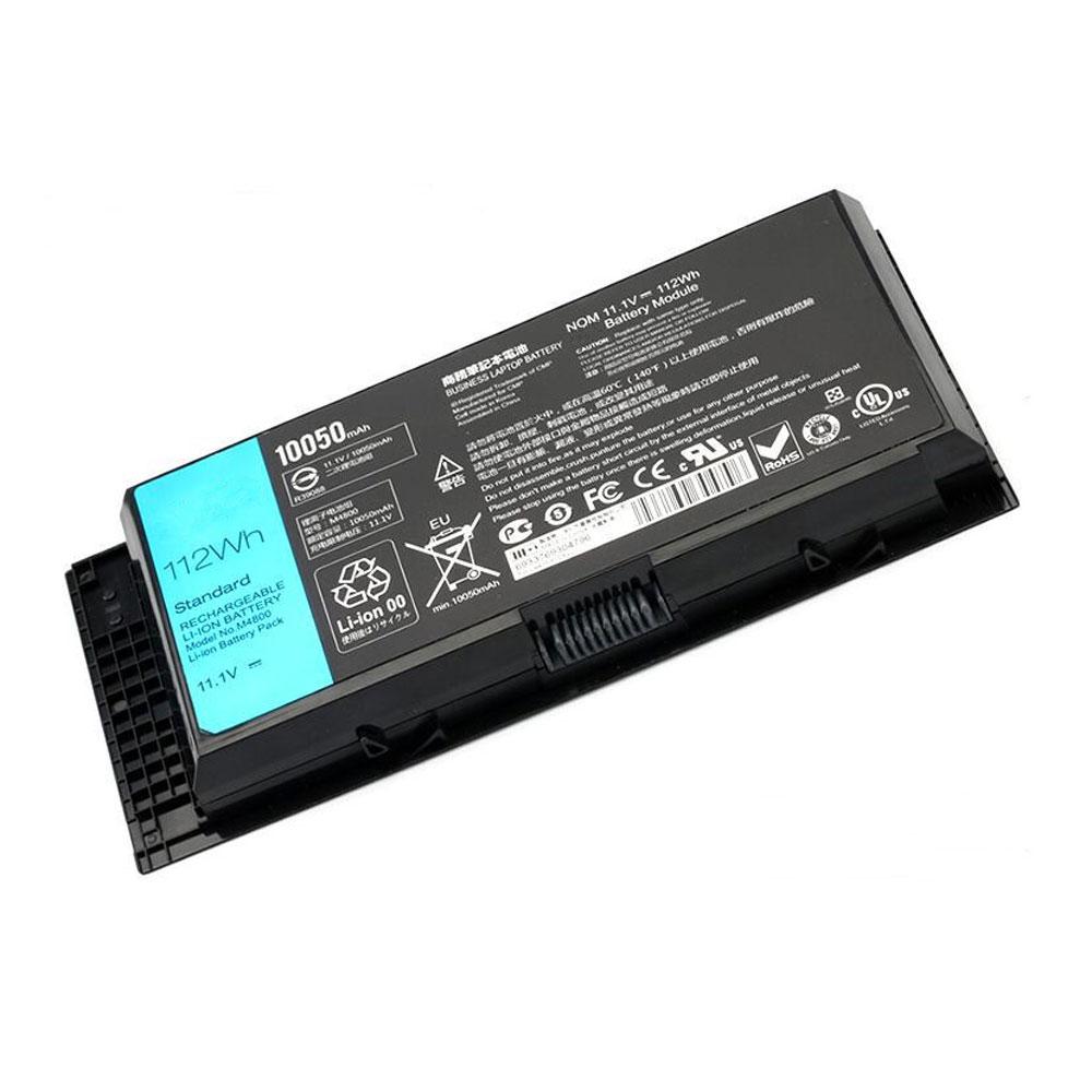 Batterie pour Dell Precision M4600 M4700 M4800 M6600 M6700 M6800 112Wh