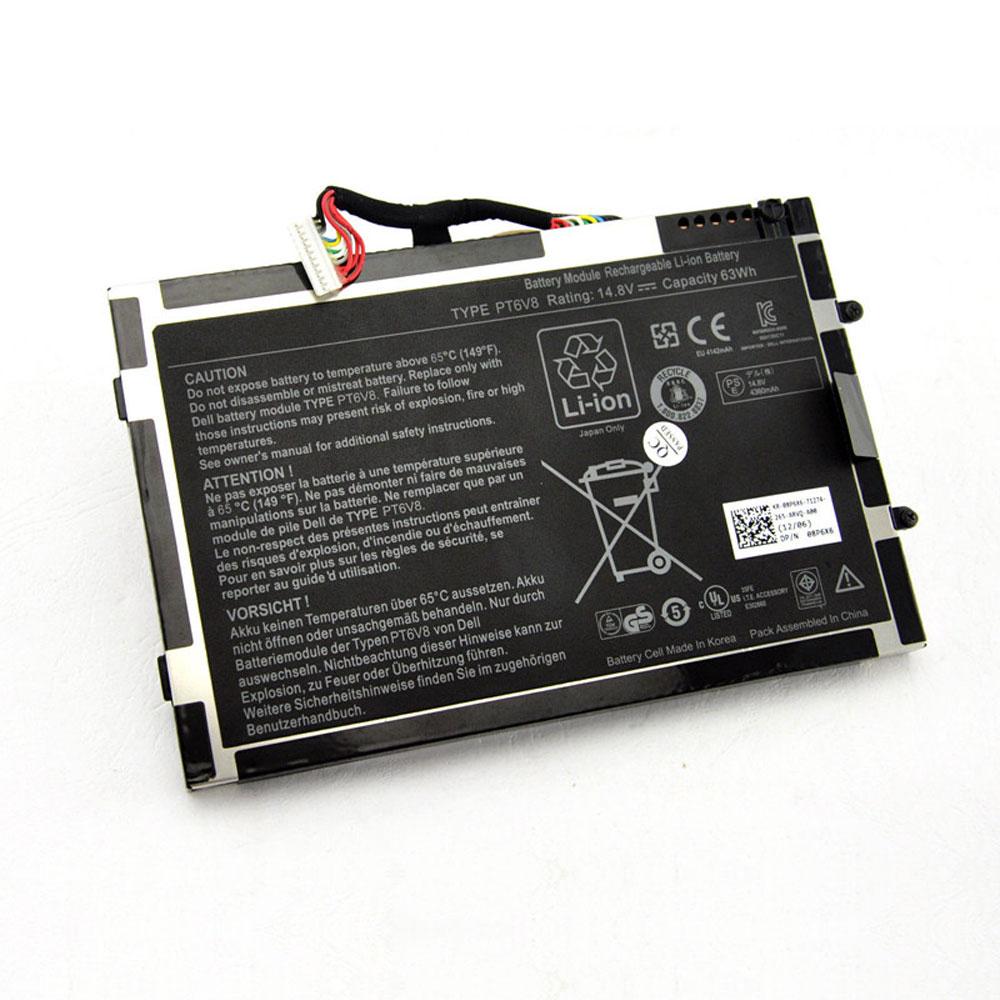 Batterie pour CLEVO PT6V8 8P6X6 08P6X6 KR-08P6X6