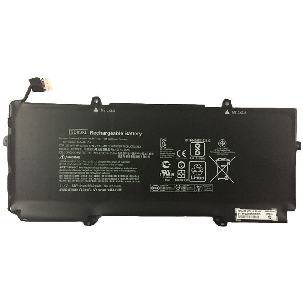 Batterie pour HP Chromebook 13 G1 Core m5 3830mAh/45WH