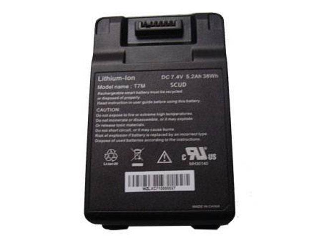 Batterie pour Twinhead Durabook T7M T7M SCUD 5.2Ah/38Wh